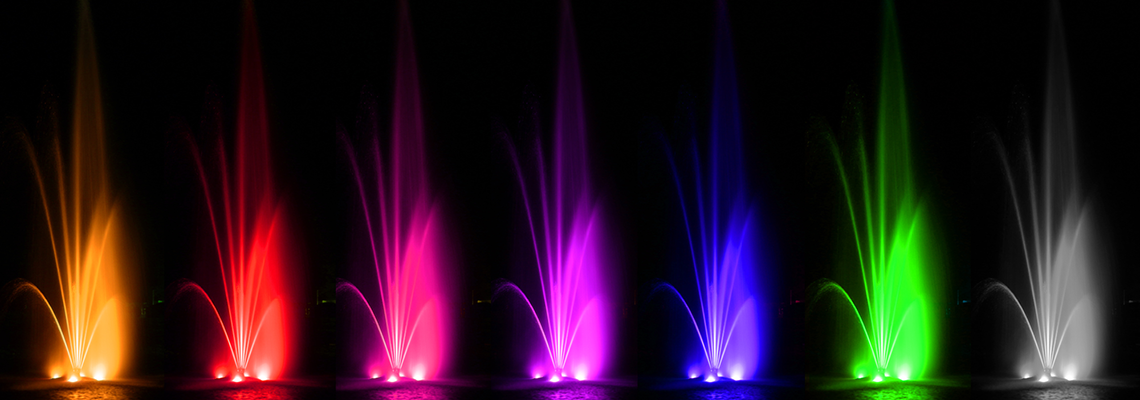 Nightglow Fountains