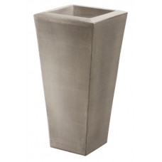 Weathered Graystone Papyrus Fountain Vase