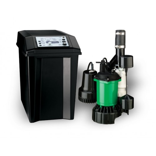 Myers MBSP-2C Battery Backup Sump Pump System