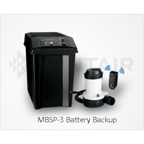 Myers MBSP-3 Battery Backup Sump Pump System