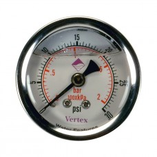 "Vertex 2"" Pressure Gauge with Back Outlet"